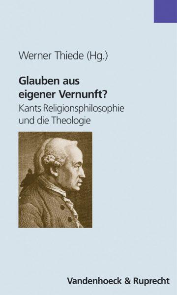 """Cover """"Glauben aus eigener Vernunft?"""""""