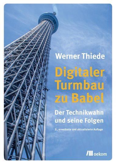 "Cover ""Digitaler Turmbau zu Babel"""