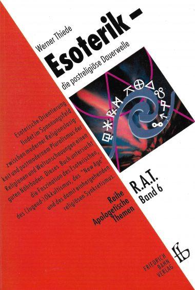 "Cover ""Esoterik – die postreligiöse Dauerwelle"""
