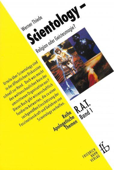 "Cover ""Scientology – Religion oder Geistesmagie?"""