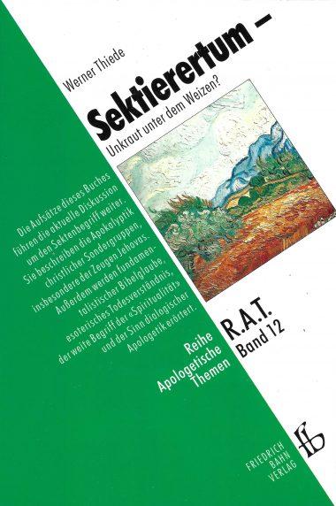 """Cover """"Sektierertum – Unkraut unter dem Weizen?"""""""